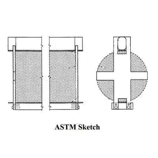 ASTM C496 Compression Fixture Cylindrical Concrete | GC496
