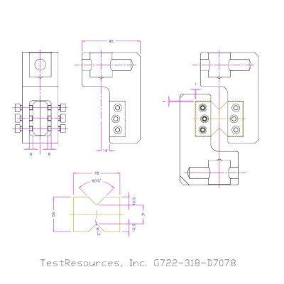 GD7078-722 ASTM D7078 Test Fixture