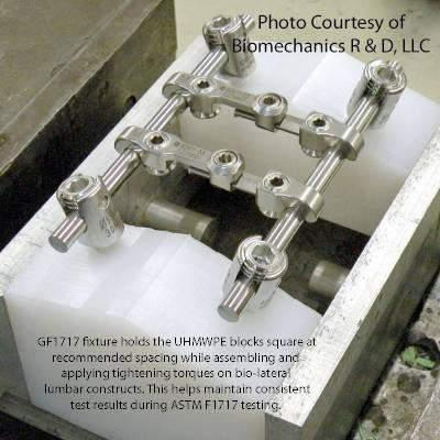ASTM F1717 Spinal System Test Fixtures | GF1717