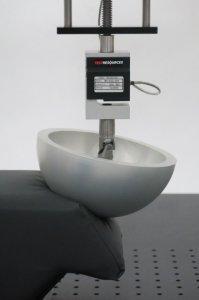 Bolster Foam Test using special indenter foot design